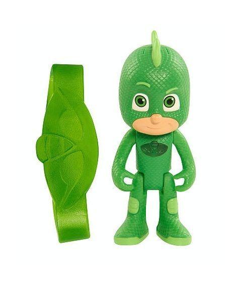 PJ Masks Gekko Light Up Figure Hot Toys 3 Inch Amulet Bracelet New #PJmasks