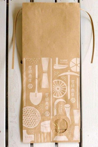 ギフト用クラフト米袋