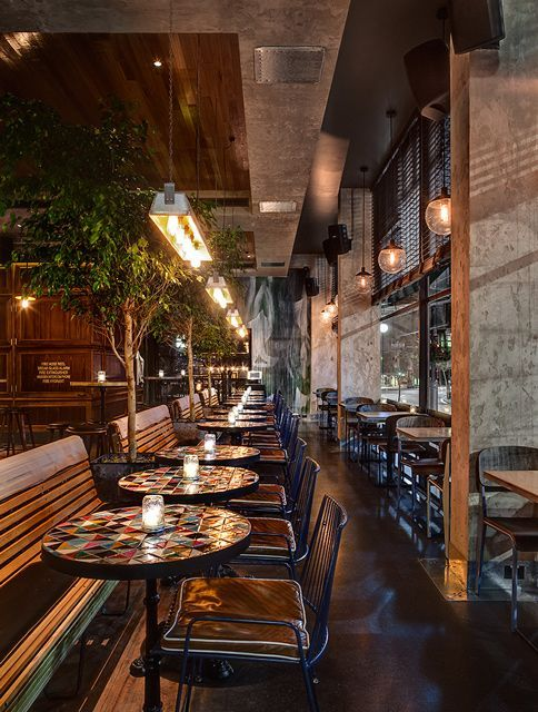 The Morrison in Sydney. Ideas and inspiration for interior decor for Restaurants, Bistros, Cafes and Bars.