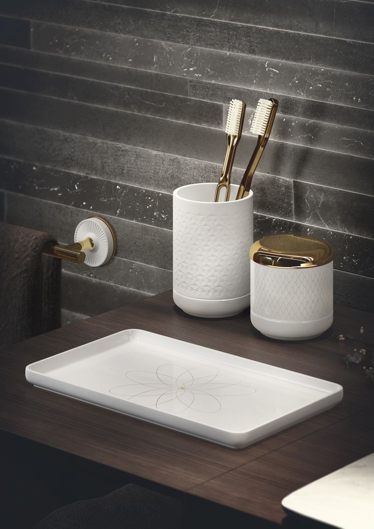 #porcelain #accessories by #Equilibrium collection. Designed by #edwardvanvlietofficial by #pomdorbathworld and #official_rosenthal.