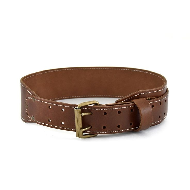 "Style n Craft  98437 - 3"" Tapered Work Belt in Heavy Top Grain Leather #StylenCraft #LeatherToolBelttopgrainleather"