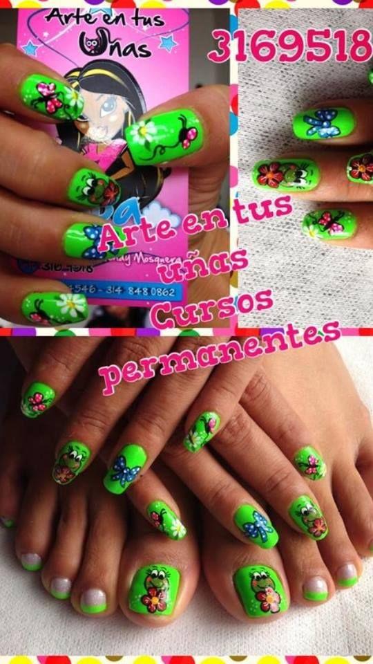 facebook Arte en tus uñas   uñas hermosas   Pinterest ...