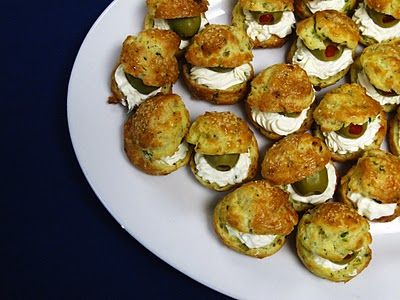 The Small Boston Kitchen: Petite Choux Hors D'Oeuvres Recipe