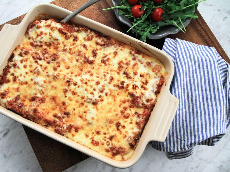 Lasagne på lammfärs och grillad aubergine | Recept från Köket.se