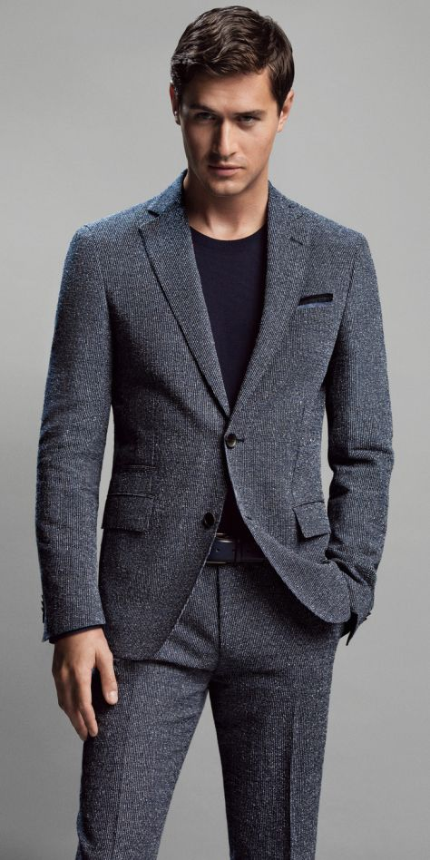 Charlie Siem for Hugo Boss | Men's Fashion | Menswear | Men's Outfit for Spring/Summer | Casual Friday | Moda Masculina | Shop at designerclothingfans.com