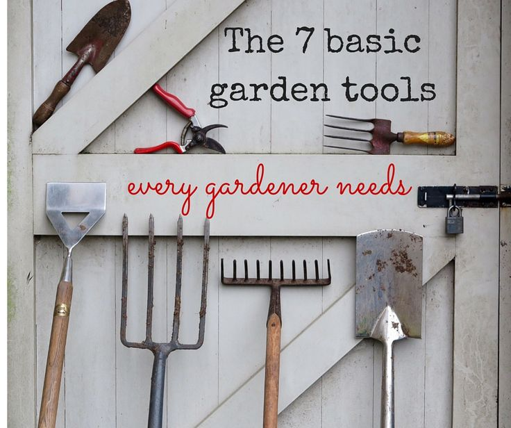 images about Garden Tools on Pinterest Gardens Gardening