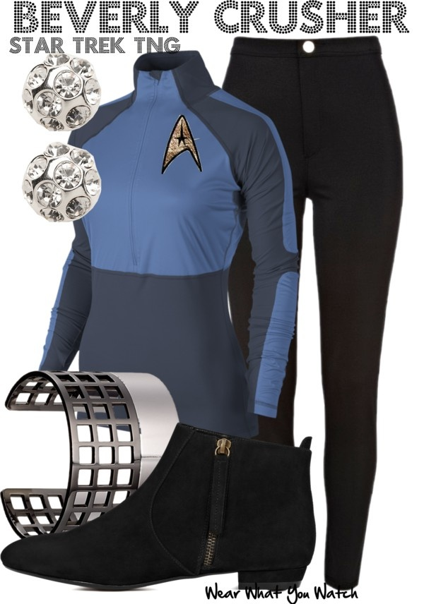 Inspired by Gates McFadden as Dr. Beverly Crusher on Star Trek the Next Generation