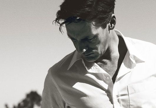 Jon Hamm. Lead actor from my favorite show, Mad Men.