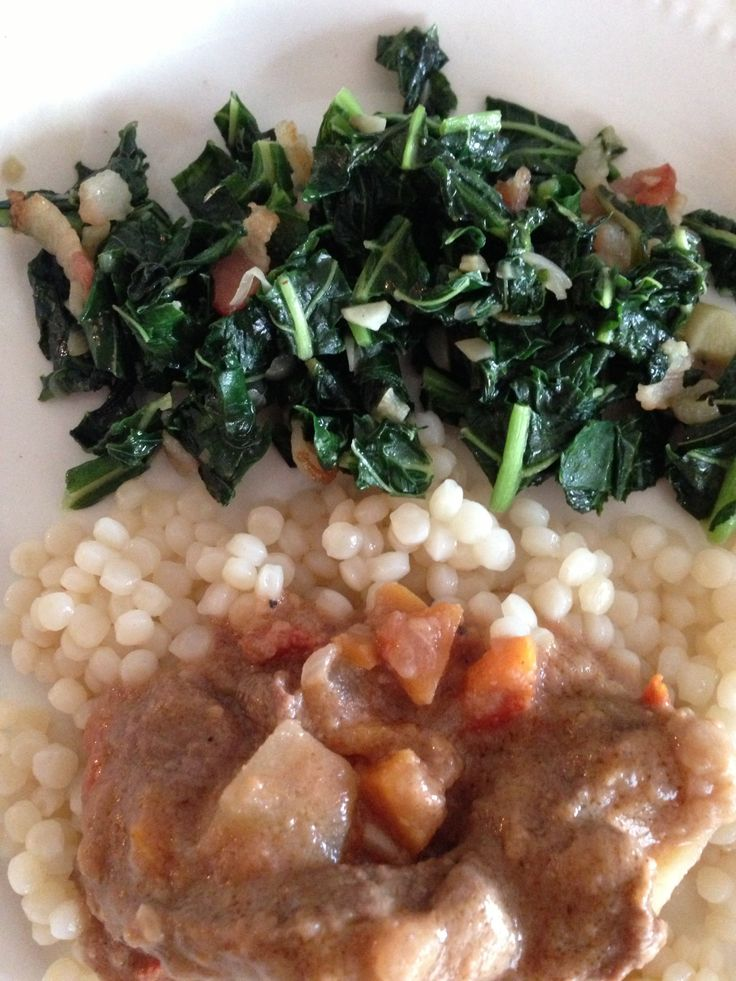 Beef stew with sauce Mafé from Senegal.