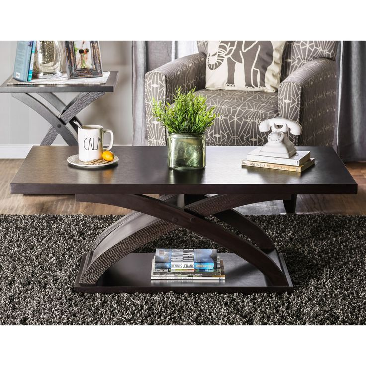Furniture of America Monte Accent Coffee Table - Espresso | from hayneedle.com