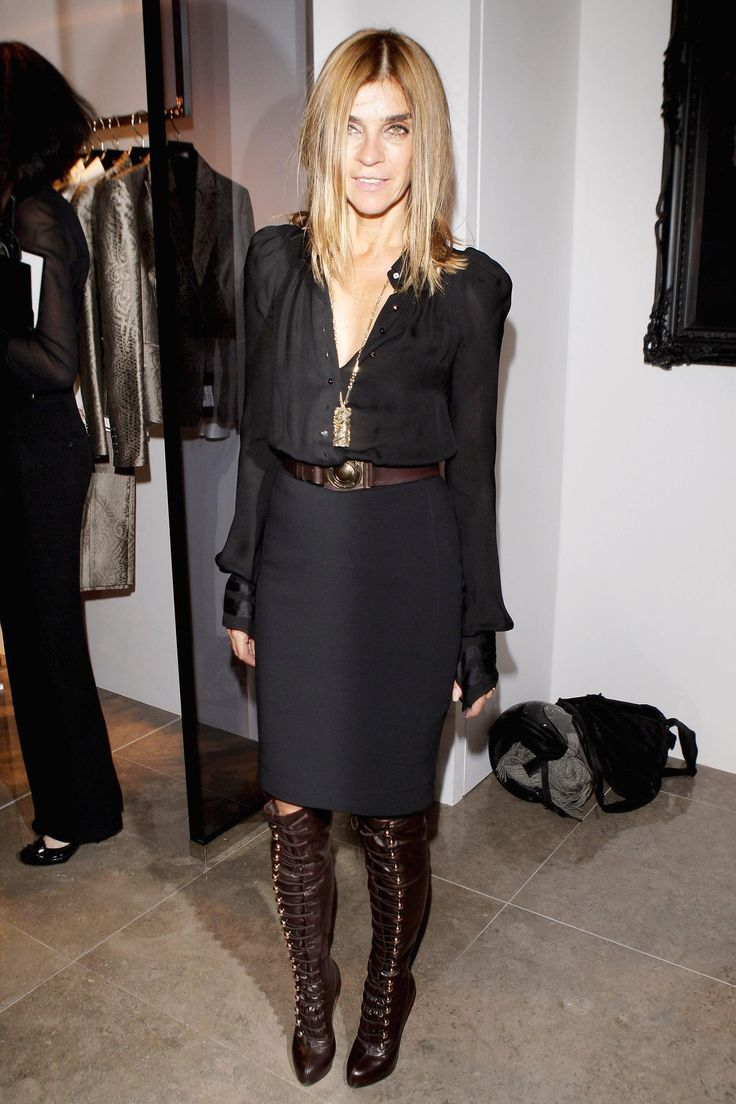 Carine Roitfeld, Most styleful woman ever. Next to Anna Wintour.