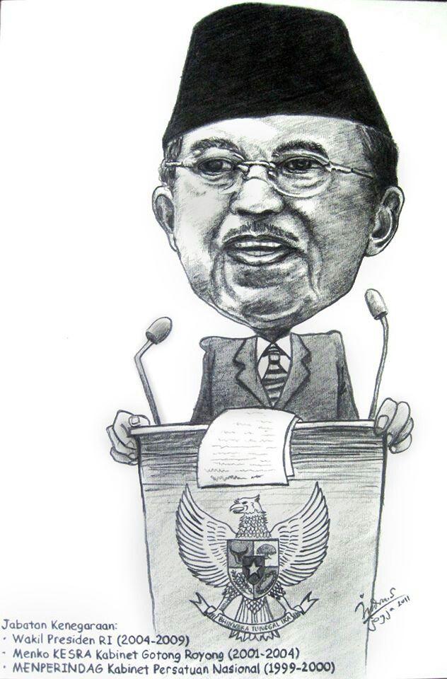 Presiden caricature, karikatur online, jasa karikatur lucu