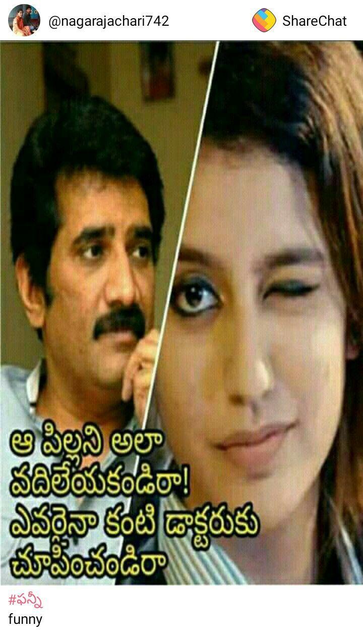 Pin by Sree on saipallavi images Telugu jokes, Funny