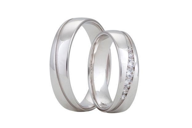 Snubní prsteny - model č. 352/02