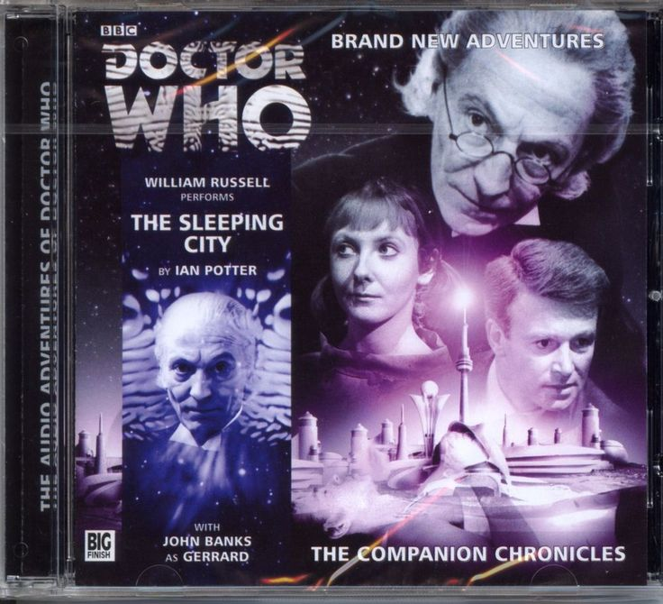 Dr Doctor Who The Companion Chronicles The Sleeping City Audio CD MINT