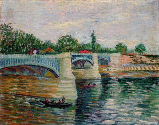 Van Gogh Museum - The Seine at Courbevoie