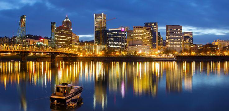 City of Portland en Oregon