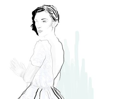 "Check out new work on my @Behance portfolio: ""Marchesa Illustration"" http://on.be.net/1MtQ4qf"