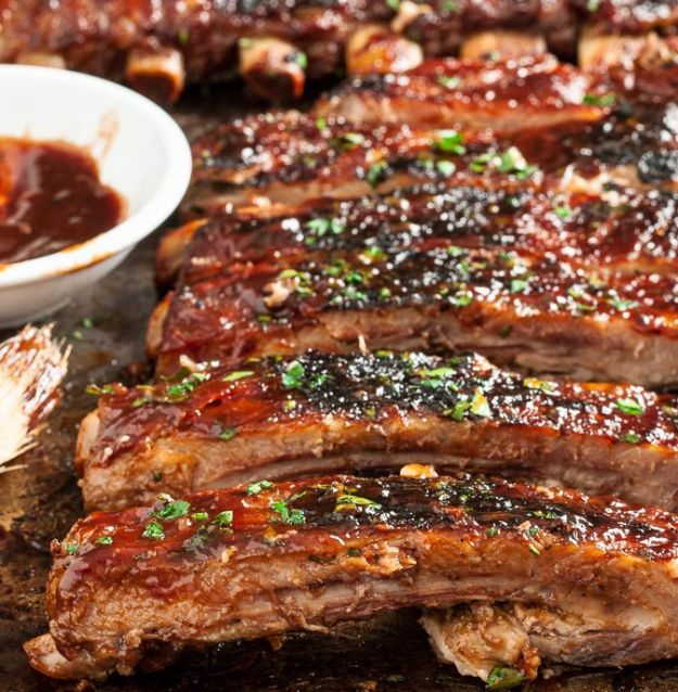 bbq ribs recipe   Delicious, So Tender and Perfectly Glazed Homemade  Fall-Off-The-Bone Short Ribs Recipes   http://homemaderecipes.com/10-short-ribs-recipes/