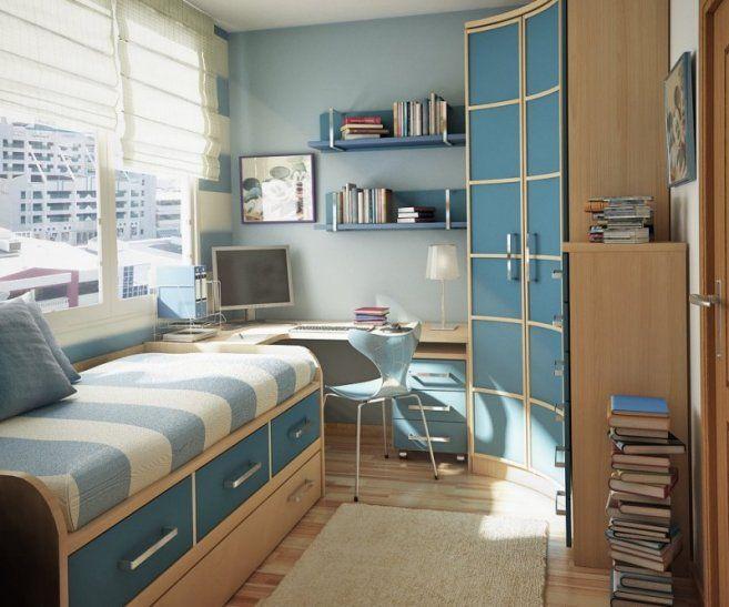 Дизайн маленькой спальни - вариант проекта