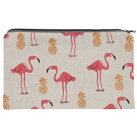 Buy Fenella Smith Flamingo and Pineapple Pencil Case Online at johnlewis.com