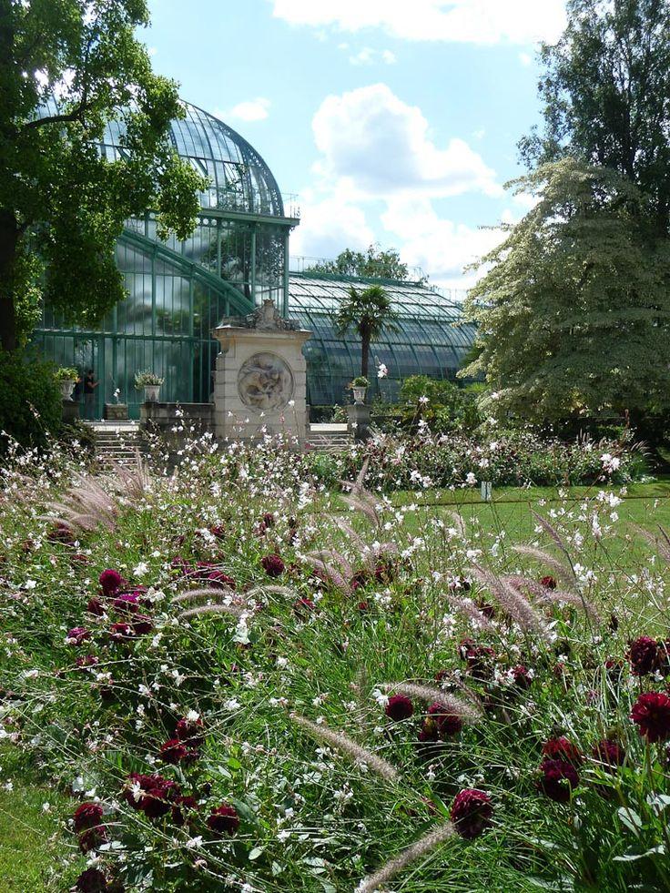 Jardin Asiatique Paris #7: Palmarium Dans Le Jardin Des Serres Du0027Auteuil, Paris 16e (75),