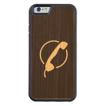 Dark modern wood with a phone shape in the middle Carved iPhone 6 Bumper Wood Case Bumper Cherry for a different and unique looks. #wood-case #bumper-cherry #wood #trendy #stylish #stylish-wood #trendy-wood-case #unique-wood-case #abstract-wood #phone-shape
