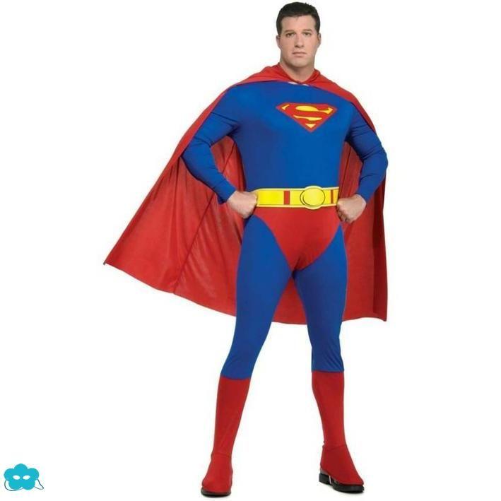 Disfraz de Superman talla grande para hombre