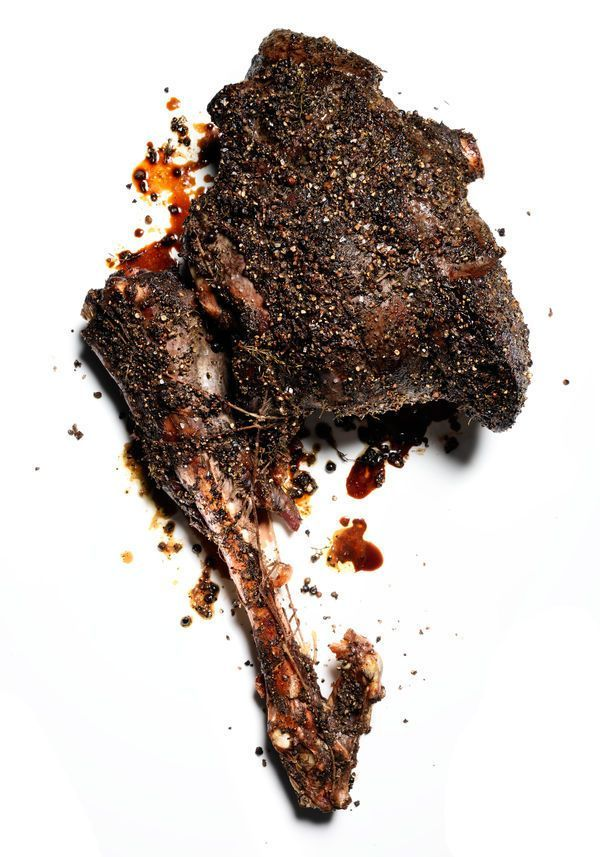 Here's one for your inner caveman: a whole roasted venison leg, just like Fred Flintstone would've cooked it. This is game cookery at its most primal and dramatic, and the results are a showpiece—which is good, as you'll need a crowd to help you eat it. Because the meat is only mildly doctored—with a classic wet rub of olive oil, thyme, rosemary, garlic, and juniper berries—and cooked in an unforgiving manner, the key to success here is a prime hunk of meat ideally from a younger ...