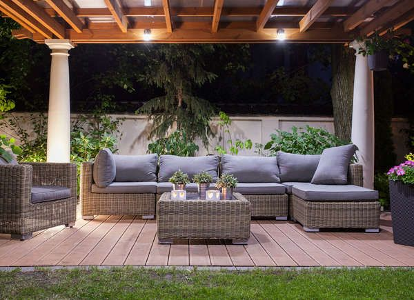 The Best Ways To Light The Backyard Outdoor Rooms Patio