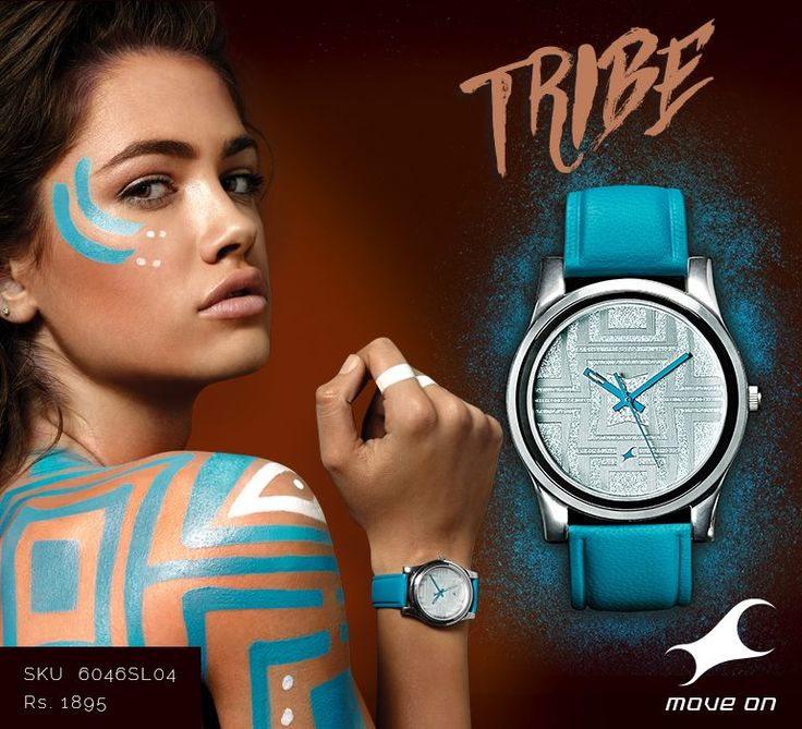 Look beyond the ordinary. There's a piece for all the seekers. #Tribe from Fastrack. http://fastrack.in/products/watches/sku-6046sl04/