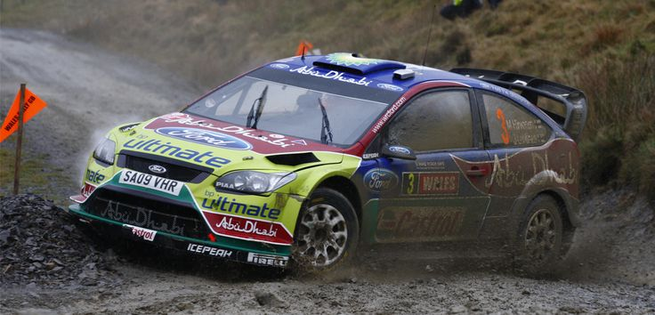 Ford Focus RS WRC 09. Rally de Gales 2010, Foto: Ford Motor Company