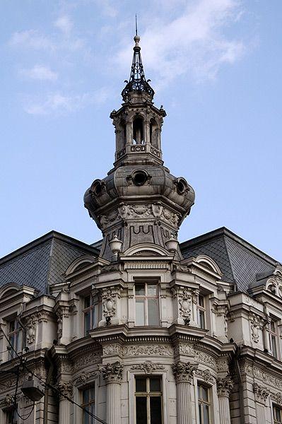 Bucharest 17th century architecture