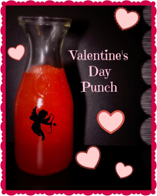 Punch, Valentines and Recipe on Pinterest