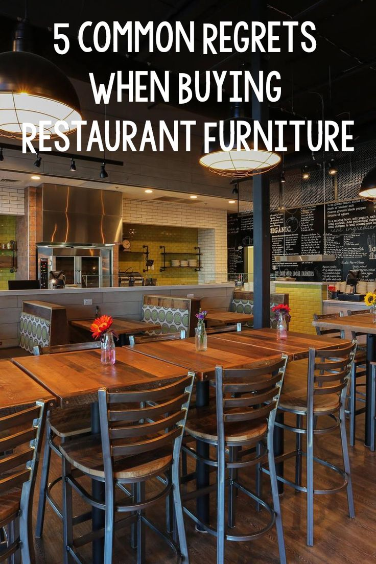 Don't buy restaurant furniture before reading this blog!
