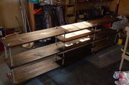 DIY: TV Stand (70 inches by 14 inches)