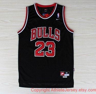 5b669aaf21b Michael Jordan Chicago Bulls Rare NBA 23 Jersey Michael Jordan Jersey Black Basketball  Jersey All Stitched and Sewn Jersey Any Size S - XXL …