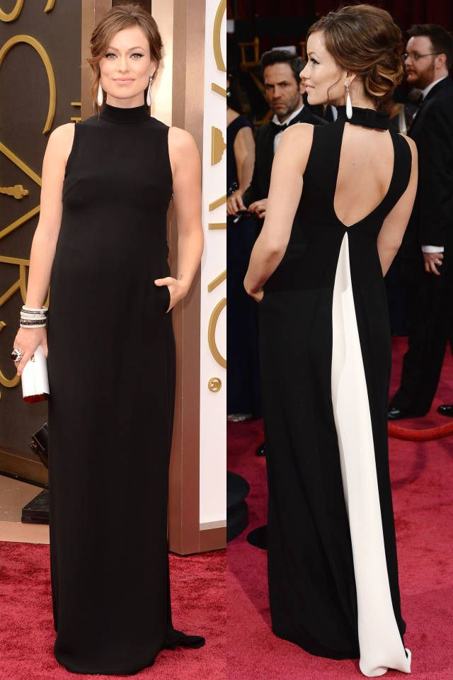 From Lupita's pleated wonder to JLaw's red peplum, see the ten best looks from the Oscars.