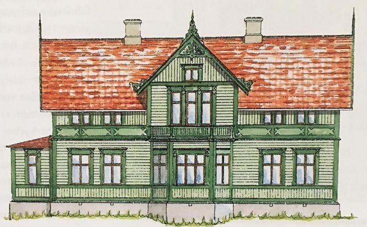 Trävilla 1890-tal