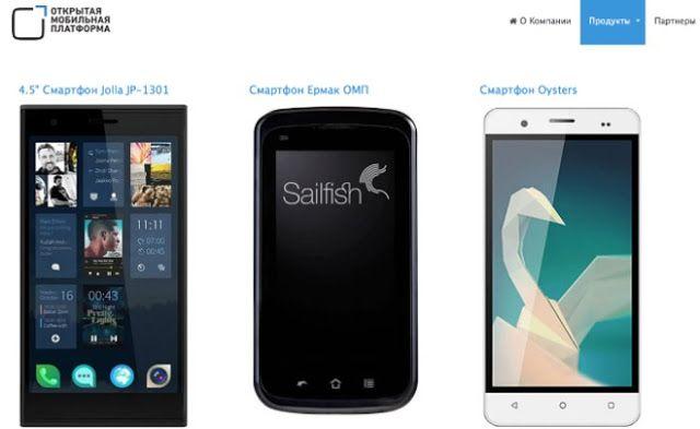 2016 Smartphone OS Sailfish from Russian Innopolis