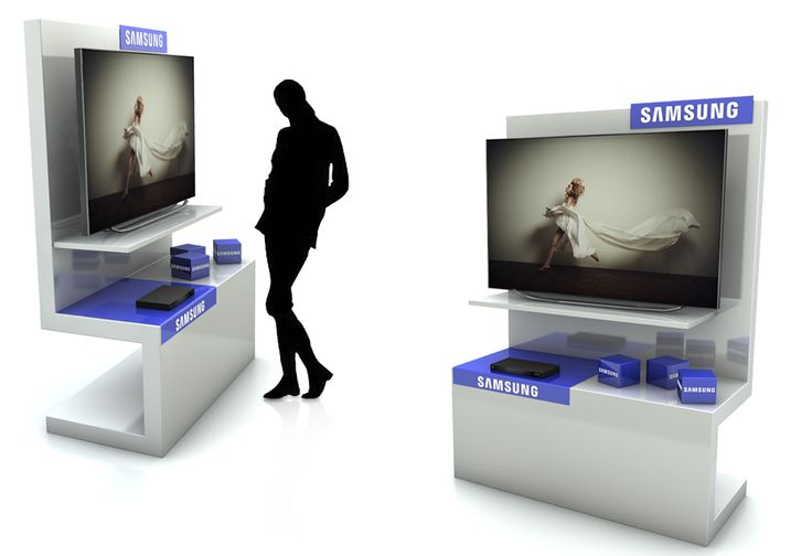 Premium floor display for TV and Blue Ray. Creation and development by Andreia de Jesus, all rights reserved.