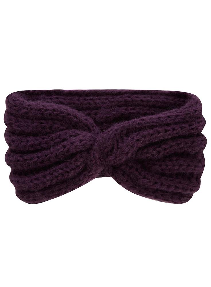 Twist Headband Knitting Pattern : twisted knit headband Knit Pinterest Twists, Patterns and Change 3