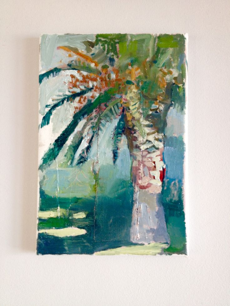 mid morning, oil on canvas,  odette marais