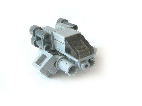 LEGO micro-spaceship.