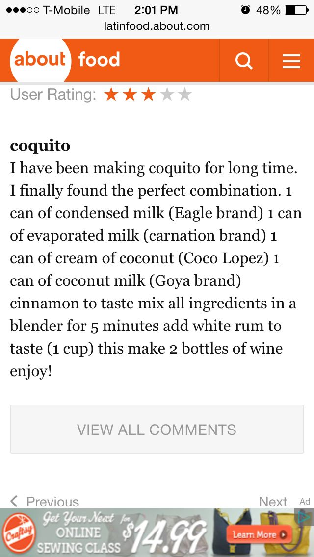 No egg coquito recipe