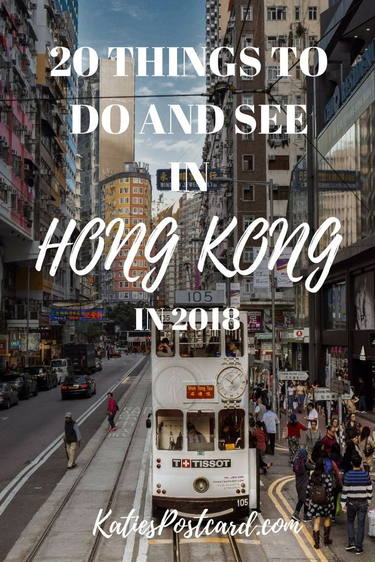 Hong Kong is one of the most thrilling places in the World, filled with incredible views and contradictions. Read my ultimate list of 20 things to do and see in Hong Kong in 2018, so you do not miss out on any of the amazing things it has to offer. Tags: Travel; Bucket Lists, What to do; Food; China; Asia; Cities; World; Trips; Tips