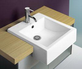 Liano Semi Recessed Basin | Semi Reccessed Basins | Caroma