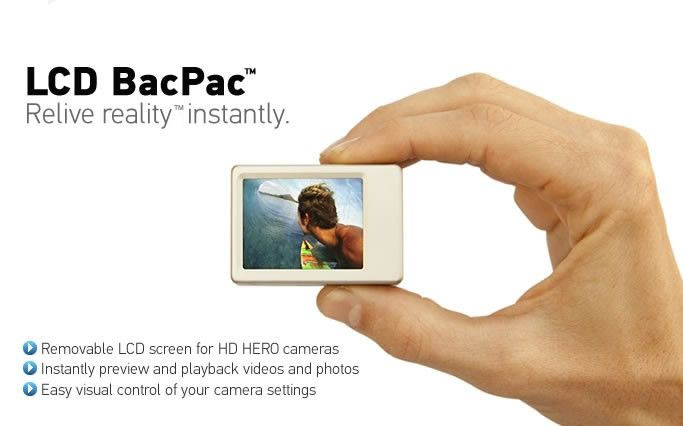 GoPro LCD BacPac - Relive Reality Instantly