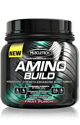 MuscleTech Amino Build – отличный по своим свойствам комплекс из аминокислот, который действует до, во время, а также после насыщенной тренировки. В 1 его порции содержится 8 грамм 100-процентных аминокислотных BCAA соединений. Важные компоненты, входящие в состав этого комплекса, станут питать мускулатуру, помогать сохранению гликогена, снижать уровень белкового распада.  Увеличьте силу на 40 процентов, купив MuscleTech Amino Build. Увеличьте выносливость мышц. Все это возможно, ведь лейцин…