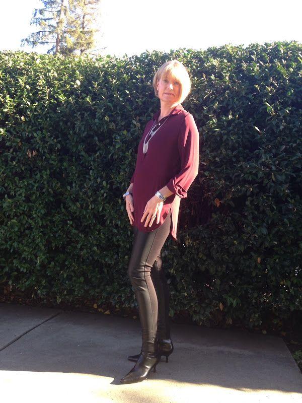 Andrea's Wellness Notes: 5 Faux Leather Leggings Looks #leatherleggigns #leggings #fauxleather